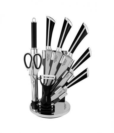 цена на Набор ножей Zeidan Z-3083 черный