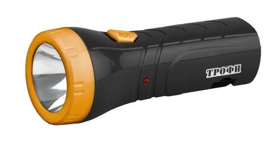 Фонарь ТРОФИ TA1 4xLED аккумуляторный 4V 0,5Ah фонарик карманный трофи tm12
