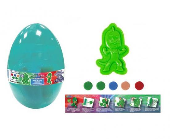 Набор для лепки Ловкий Гекко, Герои в масках, яйцо игровой набор росмэн герои в масках гекко и ниндзя 8см 2шт 32601