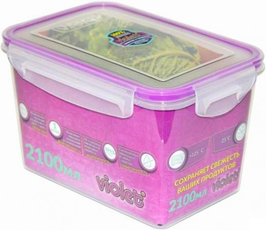 цена на Контейнер Violet 093/21 прозрачный