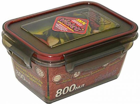 Контейнер Violet 092/081 дымчатый 800 мл контейнер tupperware умный холодильник 800 мл