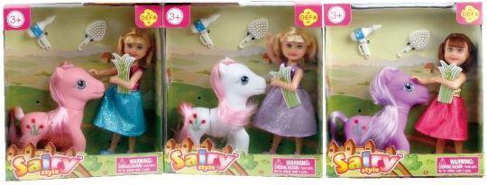 Кукла Defa Sairy Мой пони, 15 см, 2 аксесс., в ассорт. кукла defa lucy 8077