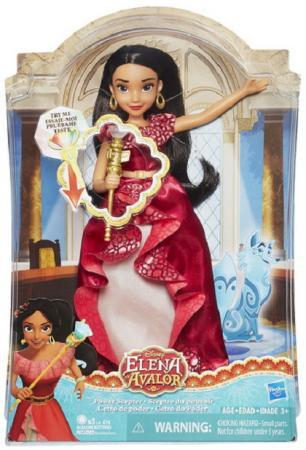 Кукла DISNEY ELENA OF AVALOR Елена и волшебный скипетр со светом disney elena of avalor кукла наоми тернер