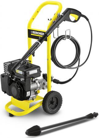 Минимойка Karcher G 4.10 M, давление 20-120 бар. 420л/час, набор насадок, бытовая бензиновая