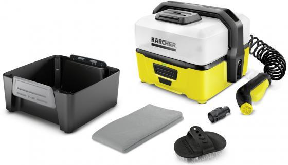 Минимойка Karcher OC 3 Pet, давление пара 4 бар, набор насадок, аккумулятор все цены