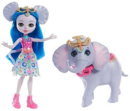 Кукла Enchantimals с большой зверюшкой в асс-те дополнительная кукла enchantimals со зверюшкой в ассортименте