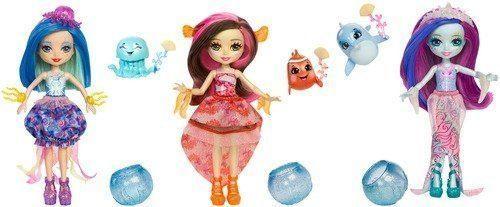 Кукла Enchantimals Морские подружки с друзьями в асс-те ирина каюкова хорошо сдрузьями
