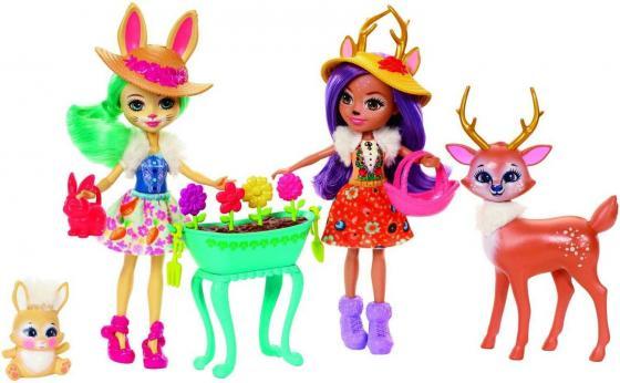 Игр. набор Enchantimals из двух кукол с любимыми зверюшками игровой набор enchantimals с любимыми зверюшками