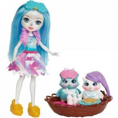Кукла Enchantimals со зверушкой и тематическим набором  асс-