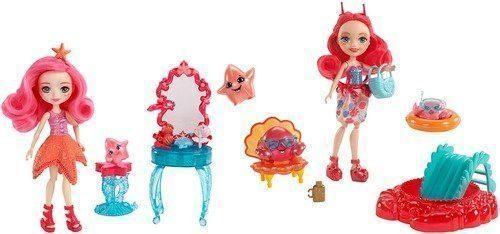 Кукла Enchantimals Морские подружки  тематическим набором в асс-