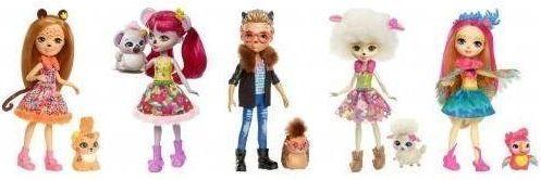 Кукла Enchantimals с питомцем в асс-те mattel enchantimals fnh24 кукла с питомцем коала