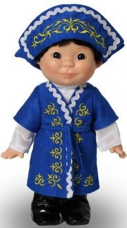 Кукла Весна Веснушка в казахском костюме мальчик фигурки sweet home интерьерная кукла мальчик в зимнем костюме