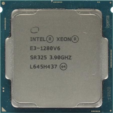 Процессор Intel Xeon E3-1280v6 3.9 GHz 8M LGA1151 OEM цена и фото