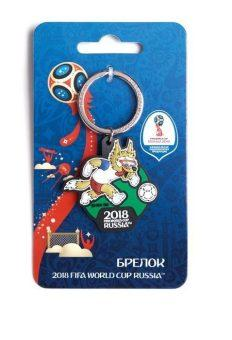 Брелок FIFA 2018 Забивака Вперед! ПВХ СН022 брелок fifa 2018 забивака удар