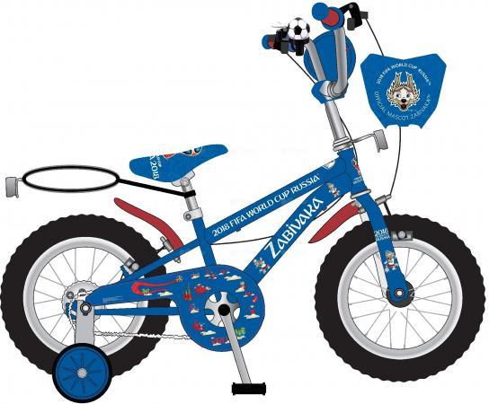 Велосипед двухколёсный Navigator FIFA-2018 16 синий ВН16128 велосипед двухколесный navigator superman 16