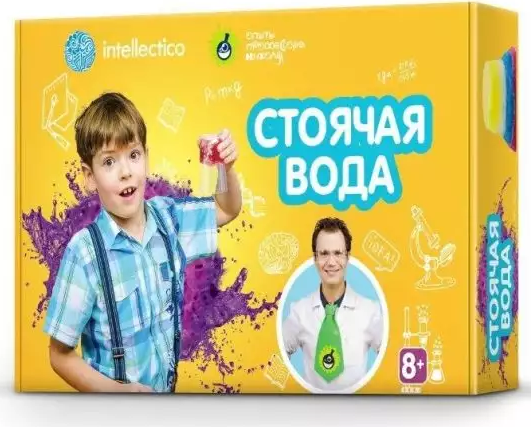 Набор для опытов INTELLECTICO Стоячая вода