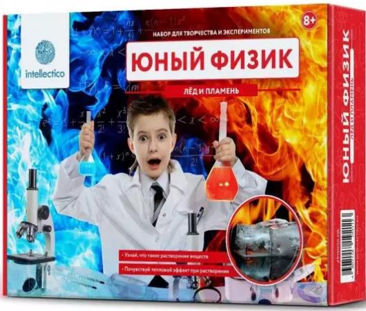 Научно-познавательный набор INTELLECTICO Лед и пламень