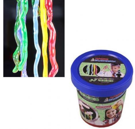 Набор для опытов Лучшие эксперименты Делаем цветных червяков Зеленый