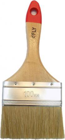 Кисть флейцевая FLY 02-100 Standard натур. щетина 100мм цена
