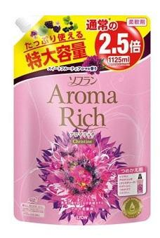 Кондиционер для белья LION Aroma Rich Christine 1шт ополаскиватель lion soflan aroma rich maria с натур аром маслами 480 мл