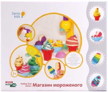 Набор для детского творч. Магазин мороженого GENIO KIDS