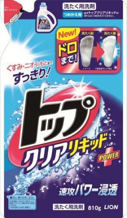 Жидкое стредство для стирки LION ТОП запасной блок 810мл 4903301-224563 жидкое средство для стирки lion top super nanox