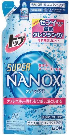 Жидкое стредство для стирки LION Top Super Nanox запасной блок 360мл 4903301-241997 недорго, оригинальная цена