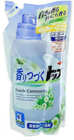 Жидкое стредство для стирки LION Top с ароматом ромашки и зеленого яблока 810мл 4903301-215745