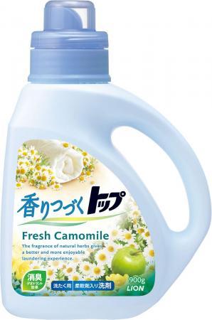 Жидкое стредство для стирки LION ТОП аромат ромашки и зеленого яблока 900г 4903301-215738 все цены
