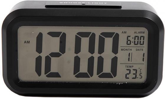 Часы настольные Сигнал EC-137B чёрный недорого