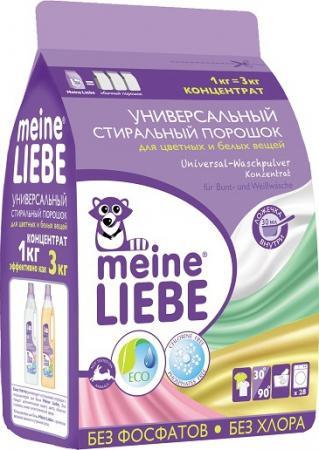 Универсальный стиральный порошок Концентрат Meine Liebe 1000 г liebe deinen naechsten