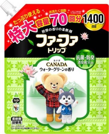 Кондиционер для детского белья NS FaFa Канада запасной блок 1,4 л sch5514e ns
