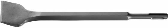 Зубило STAYER PROFESSIONAL 29354-40-250_z01 плоское изогнутое для перфораторов SDS+ 40х250мм