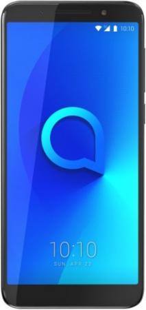 Смартфон Alcatel 3X 5058I металлик черный 5.7 32 Гб LTE Wi-Fi GPS 3G 5058I-2AALRU1 смартфон alcatel u5 3g 4047d черный синий 5 8 гб wi fi gps 3g 4047d 2calru1