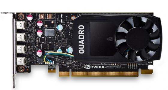 Видеокарта PNY Quadro P620 Quadro P620 DVI PCI-E 2048Mb 128 Bit Retail VCQP620DVI-PB видеокарта 2048mb pny quadro p400 pci e 64bit gddr5 minidp vcqp400 pb retail