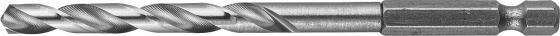 Сверло по металлу ЗУБР 29623-104-5 ЭКСПЕРТ HEX 1/4 стальP6M5 5х104мм ключ зубр эксперт hex 12 27451 12