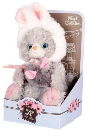Мягкая игрушка котенок Angel Collection Cat story Зайка 20 см искусственный мех 681343 искусственный газон eternal angel minnetonka womens classic fringe boot hardsole brown suede