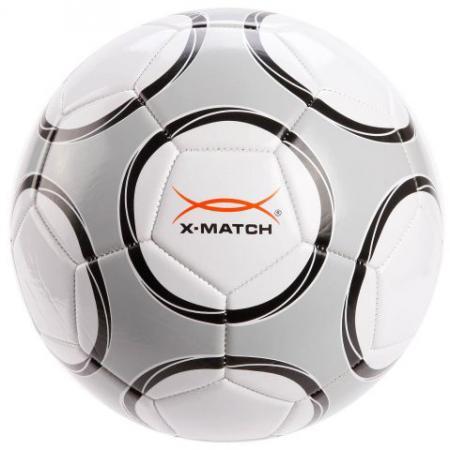 Мяч футбольный X-Match 56444 21 см в ассортименте мяч футбольный x match 56443 21 см