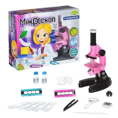 Фото - Микроскоп BONDIBON Микроскоп Французские опыты Науки с Буки ВВ1214 микроскоп