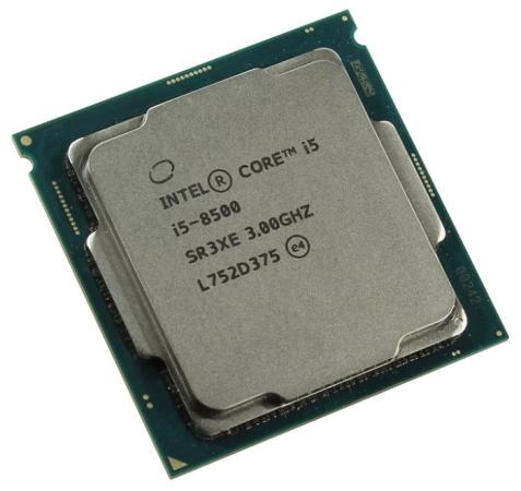 Процессор Intel Core i5-8500 3.0GHz 9Mb Socket 1151 v2 OEM процессор intel celeron g4920 3 2ghz 2mb socket 1151 oem