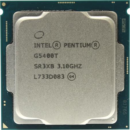 Процессор Intel Pentium G5400T 3.1GHz 4Mb Socket 1151 v2 OEM процессор intel pentium g620 cpu 1155 h61