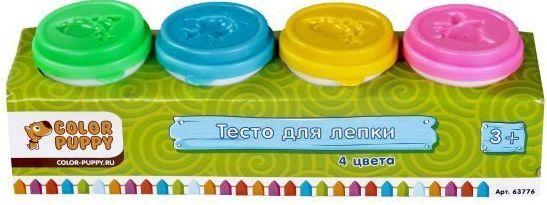 Тесто для лепки: 4 цвета, 224г цена