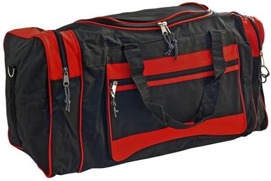Сумка спортивная,разм.67х30х30 см, ассорти 2 цвета. черно-красный,черно-синий цвет