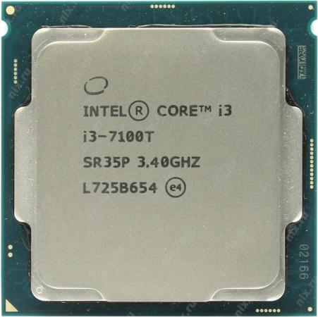 Процессор Intel Core i3-7100T 3.4GHz 3Mb Socket 1151 OEM все цены
