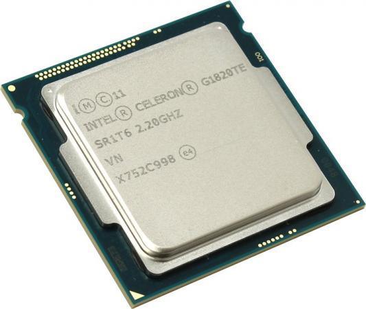 Процессор Intel Celeron G1820TE 2.2GHz 2Mb Socket 1150 OEM процессор intel celeron g1840 lga 1150 box