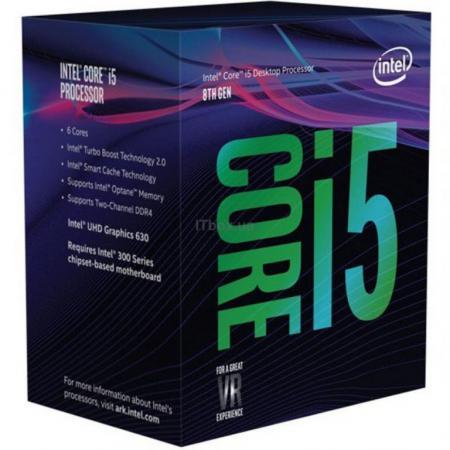 Процессор Intel Core i5-8500 3.0GHz 9Mb Socket 1151 v2 BOX процессор intel core i5 8600k 3 6ghz 9mb socket 1151 v2 box без кулера