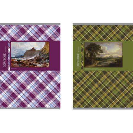 Тетрадь ACTION! ЦВЕТОЧНЫЕ ГРАВЮРЫ, мелованный картон, уф-лак, клетка, ф. А4, 80 л. qiao niya 28012