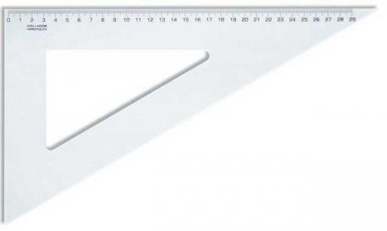 Треугольник, угол 60 градусов / 320 мм, прозрачный, в индивидуальной упаковке с европодвесом угол decomaster эрмитаж цвет 60 51х51х2400 мм 142 60