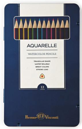 Набор цветных карандашей Bruno Visconti Multicolor 12 шт visconti vs 784 00