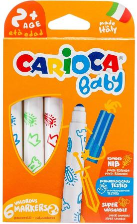 Набор фломастеров CARIOCA Baby 6 шт 42813